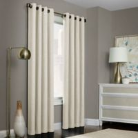 Brielle Solid 63-Inch Grommet Top Window Curtain Panel in Ivory
