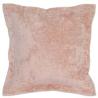 Villa Home Lapis Square Throw Pillow in Pink