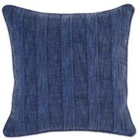 Villa Home Linen Heirloom Throw Pillow in Indigo