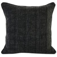 Villa Home Linen Heirloom Throw Pillow in Black