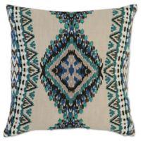 Villa Home Chita 18-Inch Square Throw Pillow Teal/Marine Blue