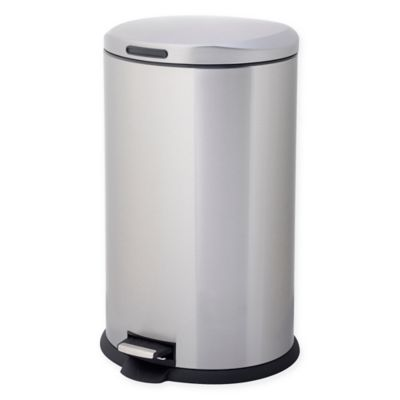 Testrite Oval 40 Liter Stainless Steel Waste Bin