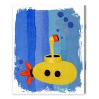Olivia's Easel Submarine 30-Inch x 36-Inch Canvas Wall Art