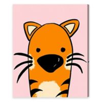 Olivia's Easel Tiger 20-Inch x 24-Inch Canvas Wall Art