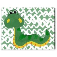 Olivia's Easel Serpiente 20-Inch x 17-Inch Canvas Wall Art