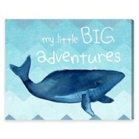 Olivia's Easel 20-Inch x 24-Inch My Little Big Adventures Canvas Wall Art