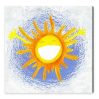 Olivia's Easel Rise & Shine 16-Inch x 16-Inch Canvas Wall Art