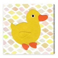 Olivia's Easel Duck Kingdom 16-Inch x 16-Inch Canvas Wall Art