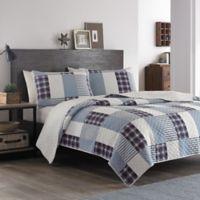 Eddie Bauer® Camano Island Plaid Twin Quilt Set in Palm