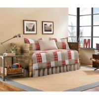 Eddie Bauer® Camano Island Plaid Daybed Quilt Set in Red
