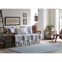 Eddie Bauer® Camano Island Plaid Daybed Quilt Set in Palm