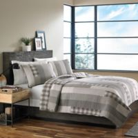 Eddie Bauer® Fairview Twin Quilt Set in Grey