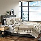 Eddie Bauer® Fairview Full/Queen Quilt Set in Tan