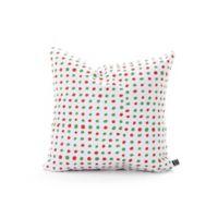 DENY Designs Holiday Polka Dots Square Throw Pillow