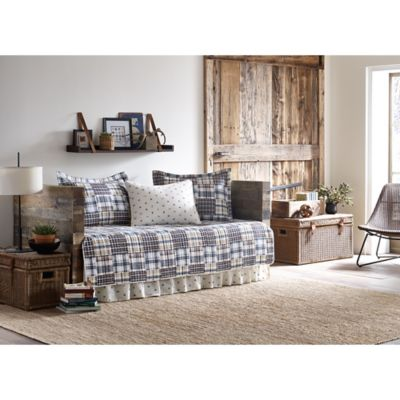 eddie bauer sandpoint daybed quilt set in yellowblue