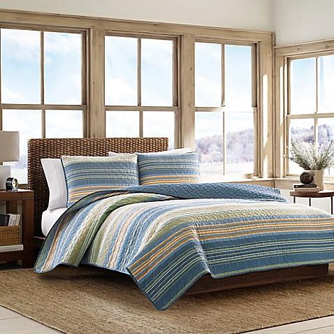 Buy Eddie Bauer Yakima Valley Full Queen Quilt Set In Persimmon From Bed Bath Beyond