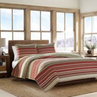 Eddie Bauer® Yakima Valley Full/Queen Quilt Set in Red