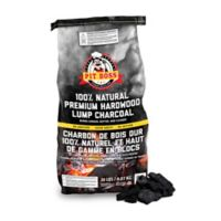 20-lb.Bag of 100% Natural Premium Hardwood Lump Charcoal