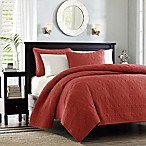 Madison Park Quebec Reversible Full/Queen Coverlet Set in Red