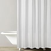 Kassatex Honeycomb Shower Curtain In White