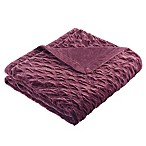 Bombay™ Victoria Oversize 60-Inch x 70-Inch Throw Blanket in Purple