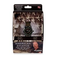American Aviator Unisex Watch in Green with Nylon Band