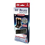 35° Below® Small/Medium Warming Socks in Black