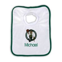 Designs by Chad and Jake 2-Pack Personalized Boston Celtics Bib