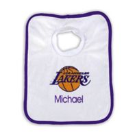 Designs by Chad and Jake 2-Pack Personalized Las Angeles Lakers Bib