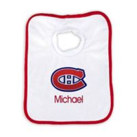 Designs by Chad and Jake 2-Pack Personalized Montreal Canadians Bib