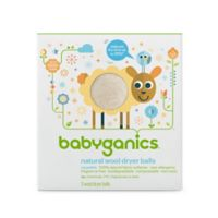 Babyganics® Laundry Dryer Balls in White (3 Pack)