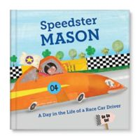 """""""Speedster: A Day In The Life Of A Race Car Driver"""" Book"""