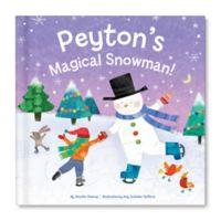 """My Magical Snowman"" Book by Jennifer Dewing"