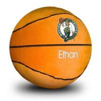 Designs by Chad and Jake NBA Boston Celtics Personalized Plush Basketball