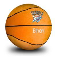 Designs by Chad and Jake NBA Oklahoma City Thunder Personalized Plush Basketball