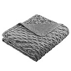 Bombay™ Victoria Oversize 96-Inch x 80-Inch Throw Blanket in Grey