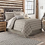 Dundee California King Comforter Set in Grey