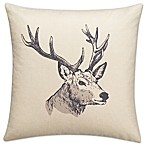 Dundee 18-Inch Square Throw Pillow in Natural