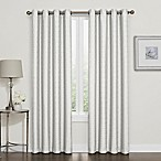 Darcy 84-Inch Blackout Grommet Top Window Curtain Panel in White