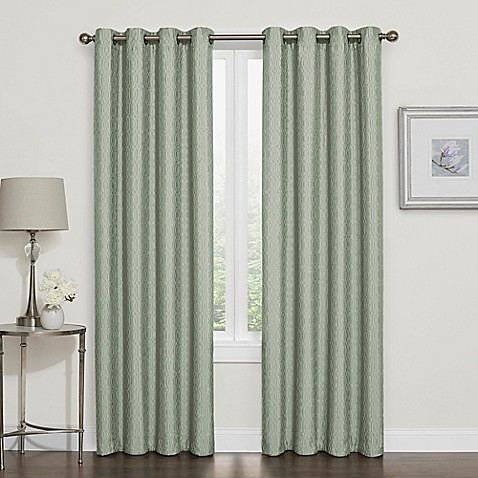 Darcy Blackout Grommet Top Window Curtain Panel Bed Bath