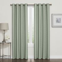 Darcy 108-Inch Room-Darkening Grommet Top Window Curtain Panel in Spa