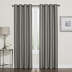 Darcy 84-Inch Blackout Grommet Top Window Curtain Panel in Grey