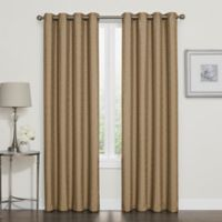 Darcy 95-Inch Room-Darkening Grommet Top Window Curtain Panel in Gold