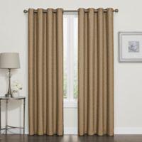 Darcy 95-Inch Room-Darkening Grommet Top Window Curtain Panel in Gold
