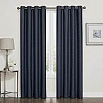 Darcy 84-Inch 100% Blackout Grommet Top Window Curtain Panel in Navy