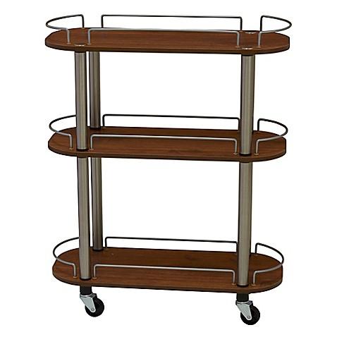 Household essentials 3 shelf utility cart bed bath beyond - Bathroom storage cart with wheels ...