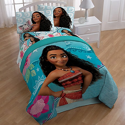 Disney 174 Moana Twin Full Comforter Bed Bath Amp Beyond
