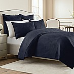 Wamsutta® King  Bliss Coverlet in Navy