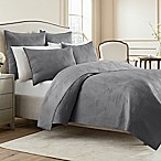 Wamsutta® Full/Queen Bliss Coverlet in Frost Grey