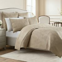 Wamsutta® Twin Bliss Coverlet in Champagne